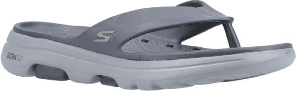 Skechers GOwalk 5 Cabana Sandal Mens Summer Charcoal